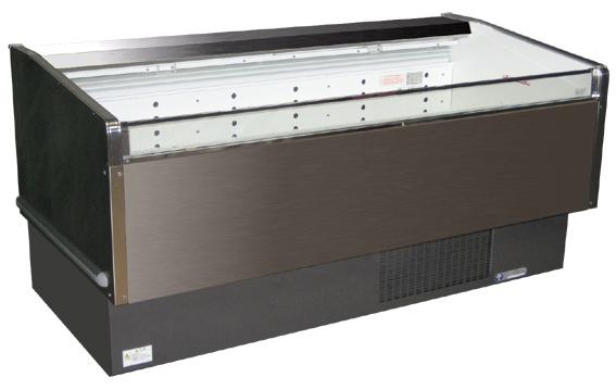 冷蔵・冷凍オープンケースW1500(切替式)